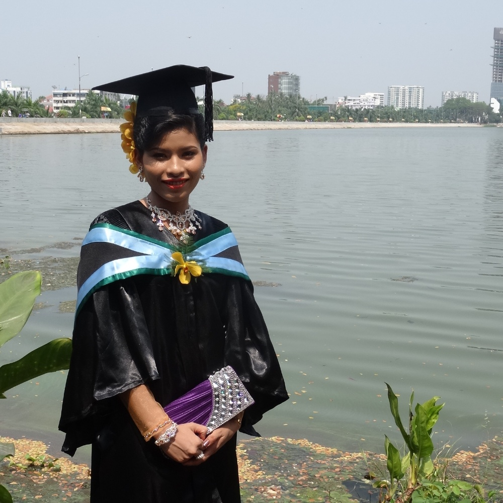 Remise des diplômes à Yangon